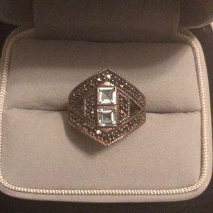 Jewelry - Beautiful sterling ring aquamarine